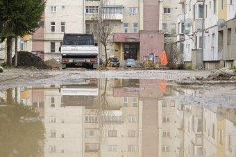 Nem minden esetben vizsgázik jól a csíkszeredai esővíz-elvezető rendszer