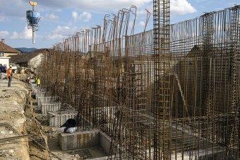Több mint hat százalékkal nőtt az építőipari termelés Romániában