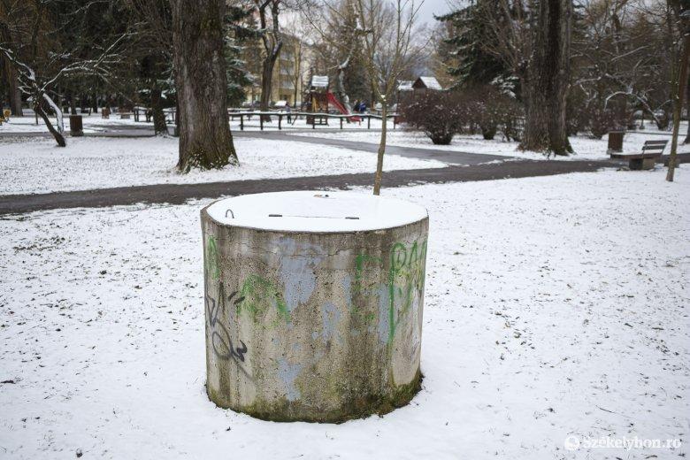 Még várni kell a Csíkszereda központjában létesített ásványvízkutak használatára