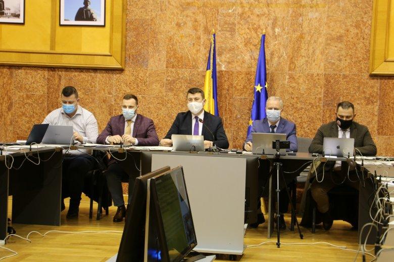 Elfogadták Hargita Megye Tanácsa 485 millió lejes költségvetését