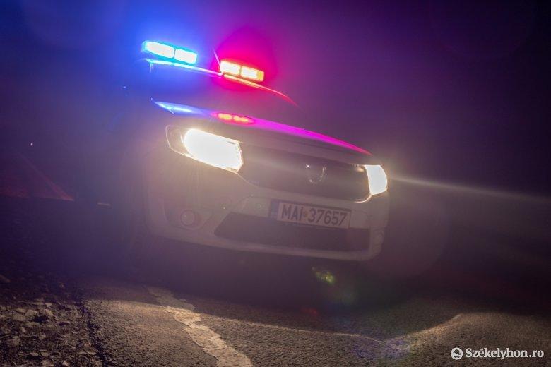 Több autót is megrongált Csíkszeredában csütörtök este egy ittas sofőr