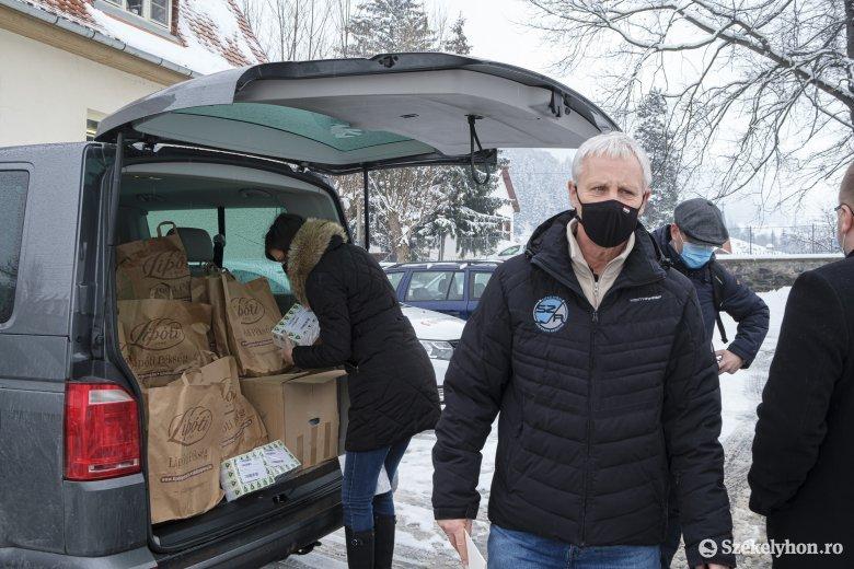 Adományok és egyházi támogatások Magyarországról Székelyföldre