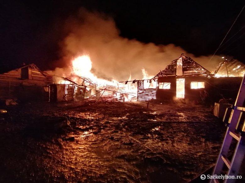 Lángokban a Somlyó utcai cigánytelep – frissítve