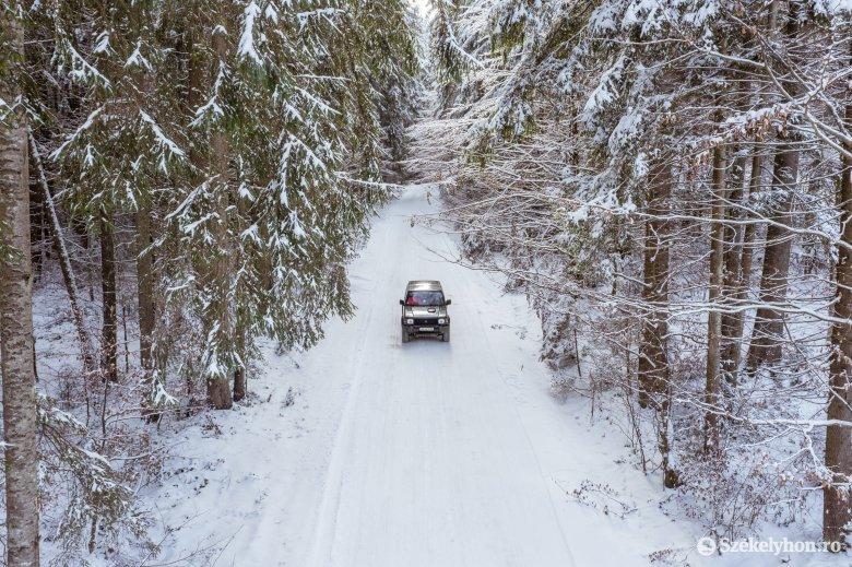 Elsőfokú havazási riasztás: egyetlen székelyföldi megye érintett, de azért szinte mindenhol havazhat