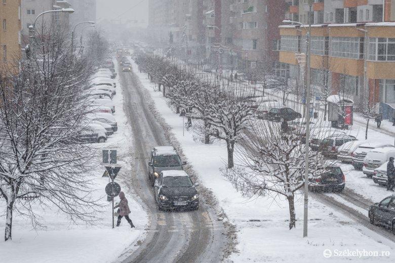Megérkezett az igazi tél