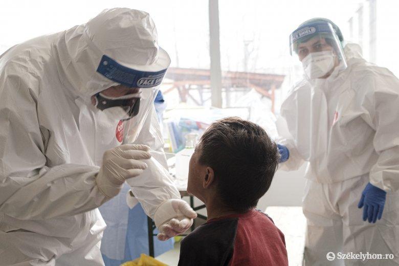 Újabb rekordot döntött, 1700 fölött az intenzív osztályon kezelt fertőzöttek száma
