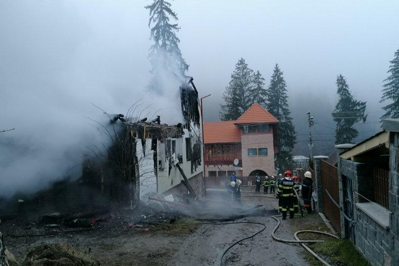 Tűz ütött ki egy tusnádfürdői villában