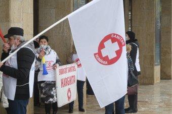 Tiltakozó akciókra készül a Sanitas egészségügyi szakszervezet