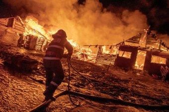 Lángokban állt a cigánytelep, több száz ember vált hajléktalanná