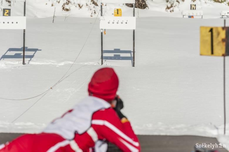 Gyűjtötték az érmeket a csíki sportolók a hargitafürdői biatlonbajnokságon