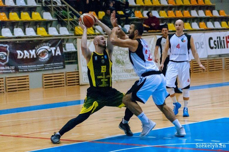 Vereséggel zárták az alapszakaszt a VSK Csíkszereda kosárlabdázói
