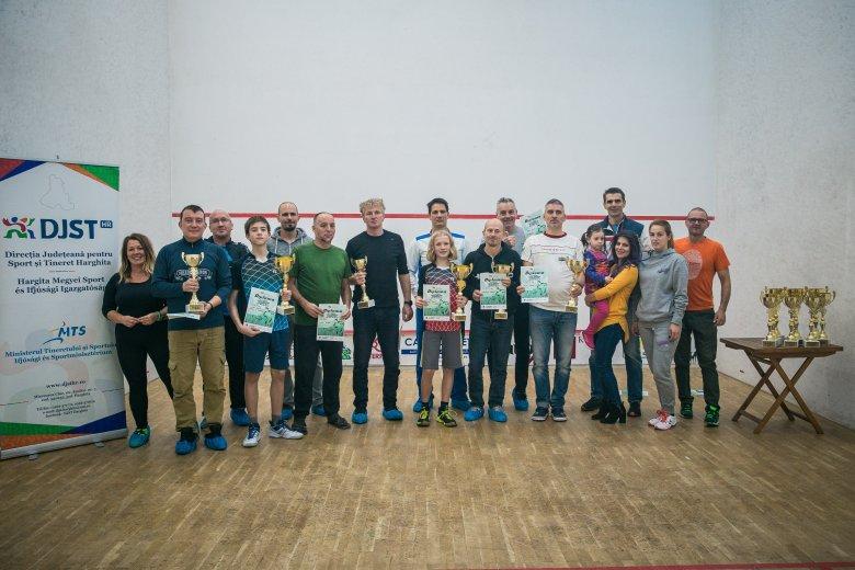 Nemzetközi squash verseny volt Csíkszeredában