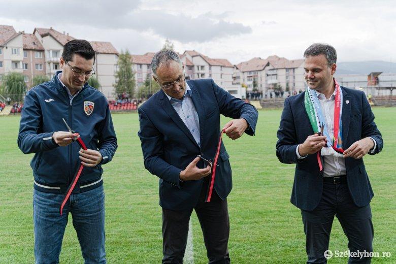 FK Csíkszereda: még vissza sem jelzett az MLSZ az avatóünnepségre küldött meghívójukra