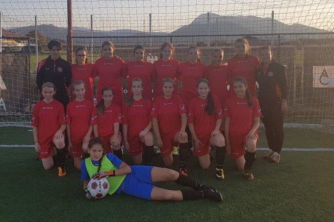 Elkezdődött az U15-ös női focibajnokság