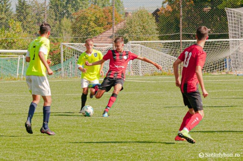 Győztek az FK Csíkszereda ifijei