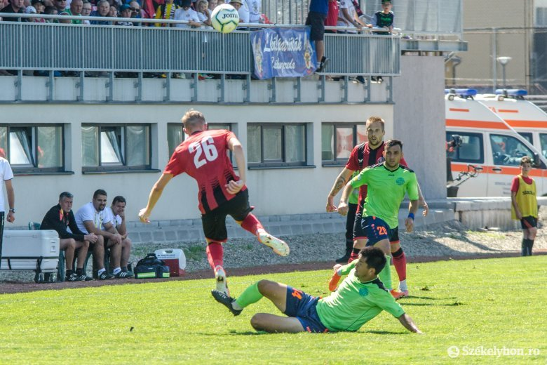 Tíz perc alatt esett össze az FK Csíkszereda