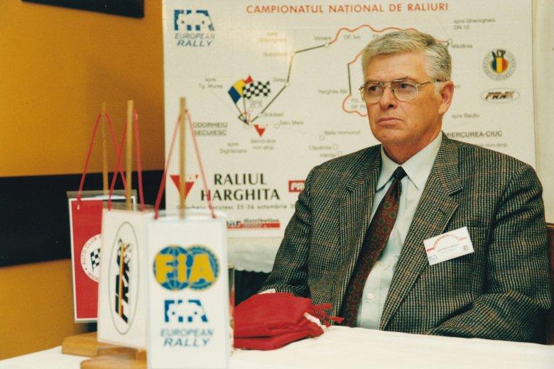 Dietrich Árpádra, a Hargita Rali megálmodójára emlékeznek