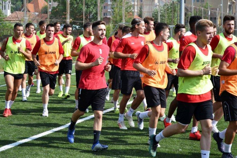 Próbajátékosok érkeztek az FK Csíkszeredához