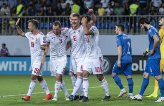 Két góllal nyertek a magyarok Bakuban