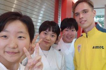 Japánban járt az FK Csíkszereda játékosa
