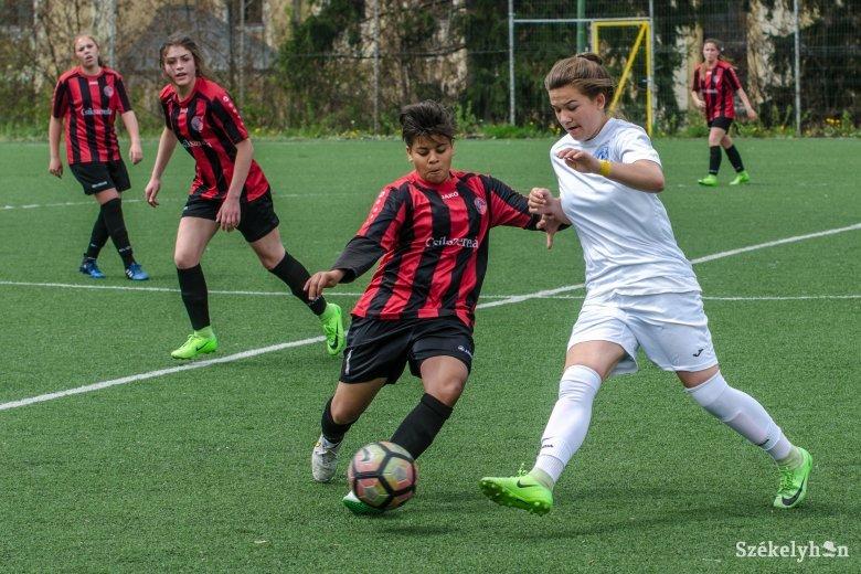 Továbbjutott a kupában a csíki női focicsapat