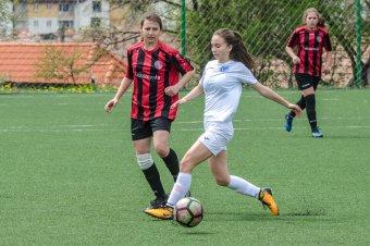 Temesváron nyert a csíki női focicsapat