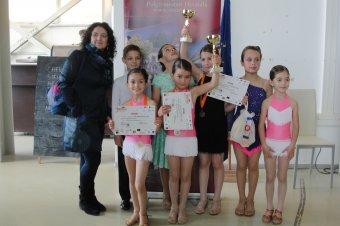 Bákói táncversenyen vettek részt