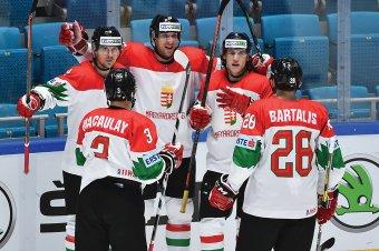 Az első magyar hokigyőzelem, Bartalis és Sofron is gólt lőtt