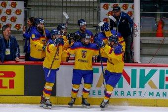 Ukrajnát is legyőzte a romániai hokiválogatott
