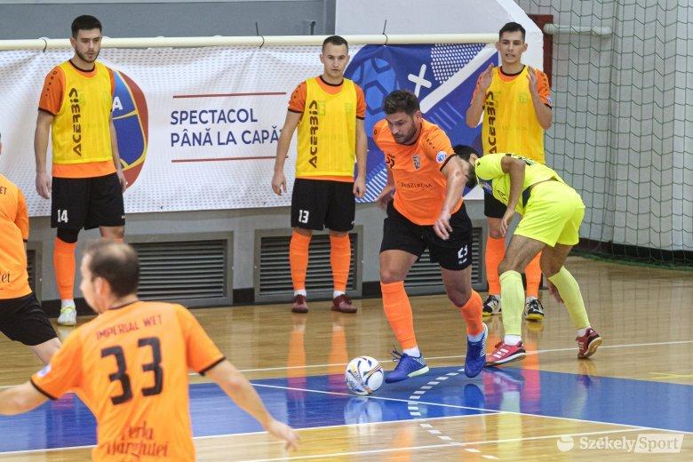 Kupaelődöntővel folytatódik a futsaldömping Csíkszeredában