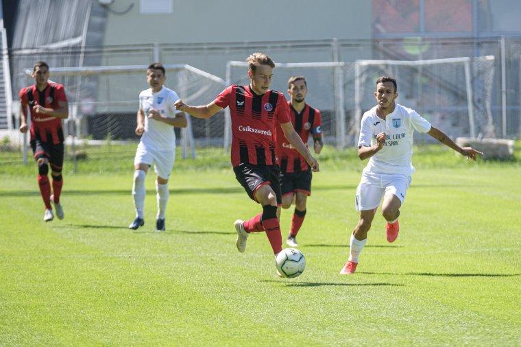 Döntetlen meccsel zárult az FK Csíkszereda edzőtábora