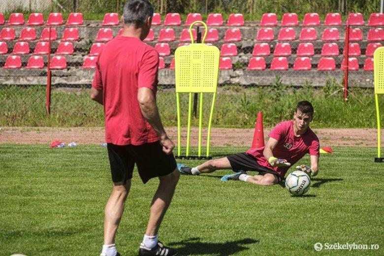 Orbaiszéken edzőtáborozik az FK Csíkszereda