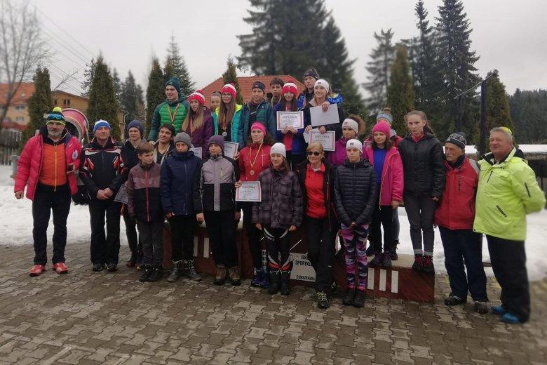 Két próbát megtartottak az iskolás sífutóbajnokságon
