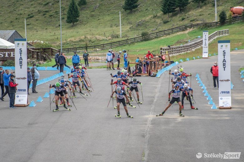 Elkezdődött a biatlon Balkán-kupa Cheile Grădiștei-en