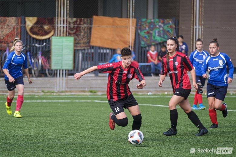 Jól teljesítenek a női labdarúgó-bajnokságokban a székely csapatok