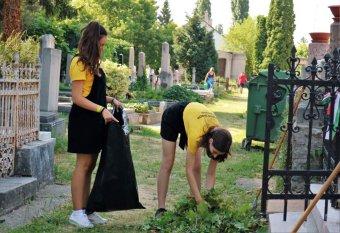 Rendszeresen ápolják a Siculicidium-emlékmű tervezőjének sírját az esztergomiak