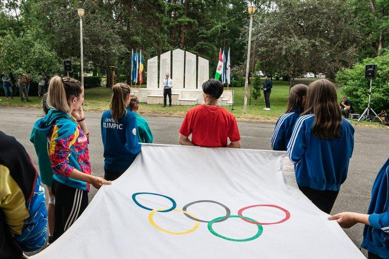 Olimpiai ünnepséget tartottak Csíkszeredában