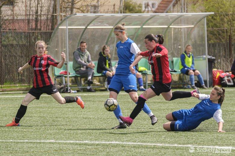 Feljutást ér a győzelem a Marosvásárhelyi Ladies női focicsapatának