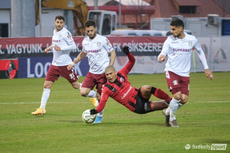 A korai bekapott gól megpecsételte az FK Csíkszereda sorsát