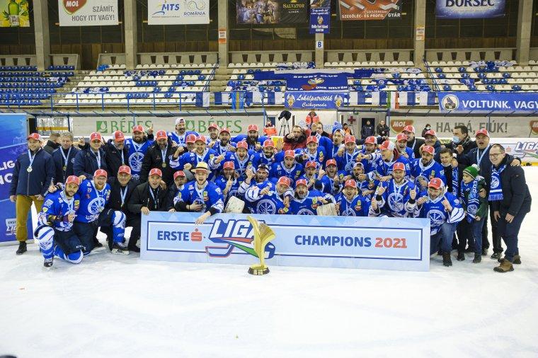 Erste Liga-bajnok a Csíkszeredai Sportklub – sok fotóval