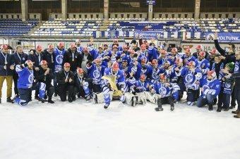 A harmadik arany: Erste Liga-bajnok a Csíkszeredai Sportklub