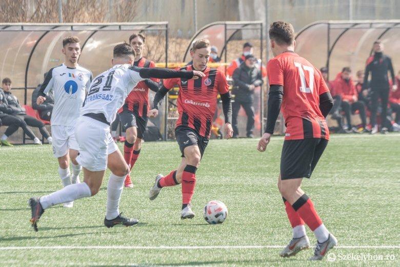 Laza ötöst gurított az FK Csíkszereda mindkét ificsapata