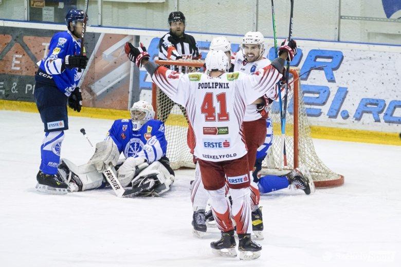 A Gyergyói HK elvette a Sportklub pályaelőnyét