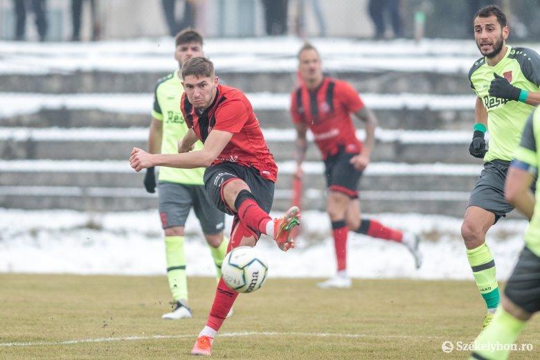 Az FK Csíkszereda ott folytatta, ahol a szünet előtt abbahagyta