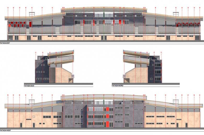Új lelátóval bővül a csíkszeredai stadion