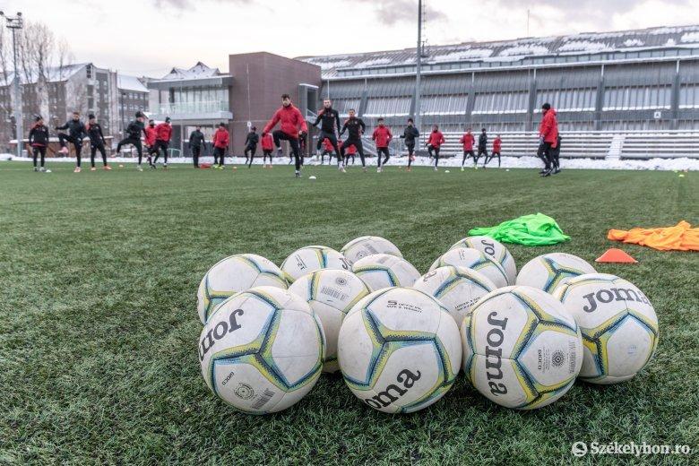 Megtartotta idei első edzését az FK Csíkszereda