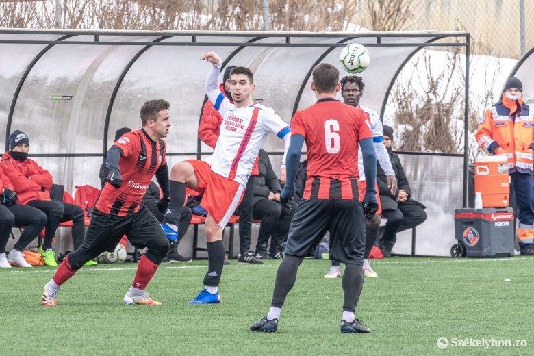 Sok gól született az FK Csíkszereda idei első felkészülési mérkőzésén