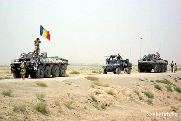 Kivonja katonáit Irakból Románia