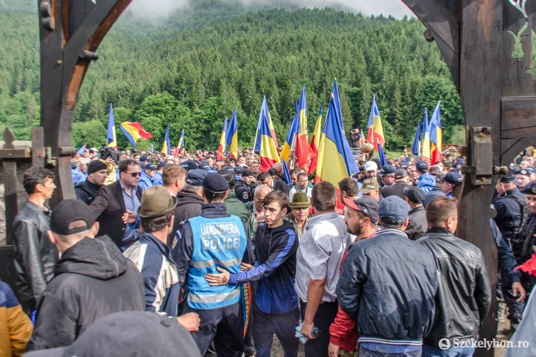 Az ügyész szerint nem is voltak incidensek az úzvölgyi temetőnél