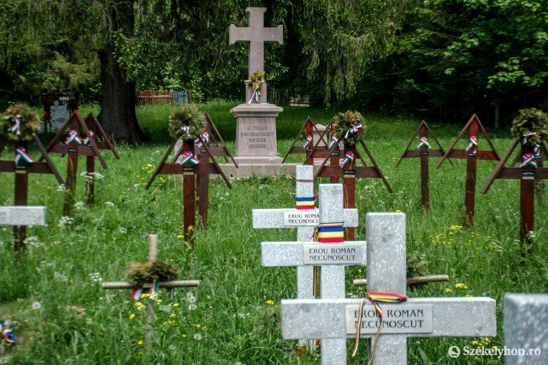 Úzvölgyi temető: nem létezik jogalap a betonkeresztek felállítására